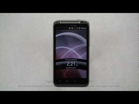 HTC ThunderBolt Tutorial Part 1