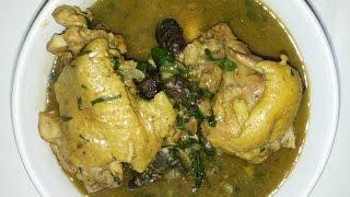 Delicious white soup (Afia efere )