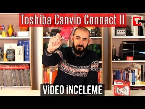 Toshiba Canvio Connect II İncelemesi - Taşınabilir Sabit Disk