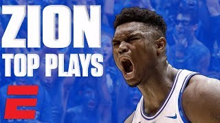 Zion Williamson's top plays of November | College Basketball Highlights