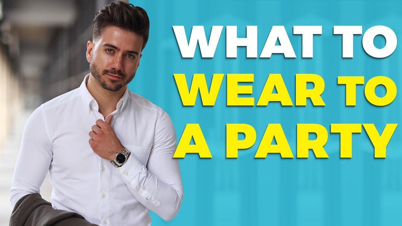 [VIDEO] - What To Wear To a Party | How to Dress Up for a Party or Event | Alex Costa 6