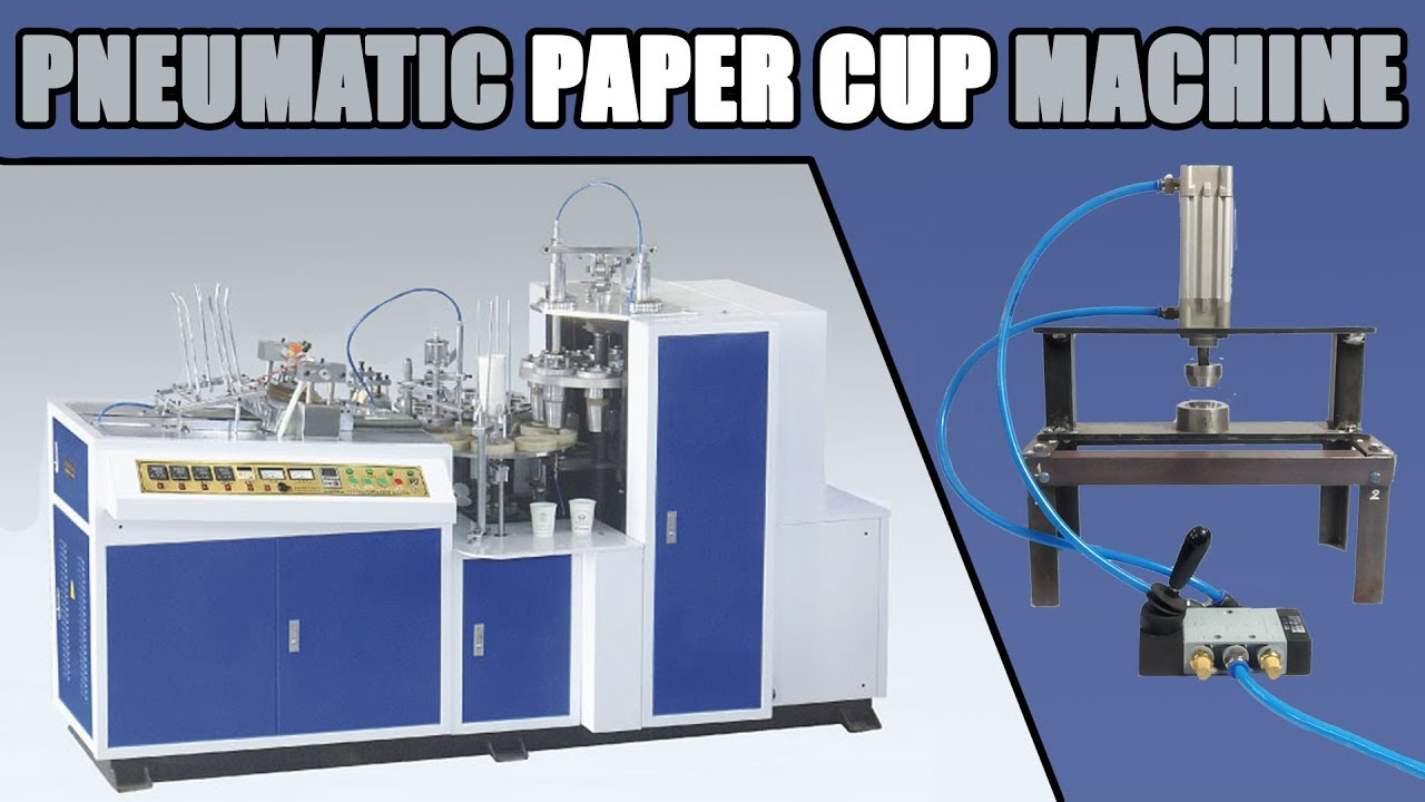 Automatic Pneumatic Paper Cup Making Machine Mechanical Project