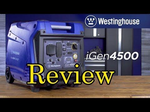 Review Westinghouse iGen4500 Super Quiet Portable Inverter Generator