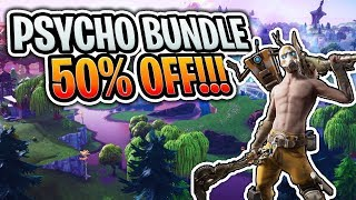 How to get the PSYCHO bundle for 50% OFF!! (Fortnite Battle Royale)