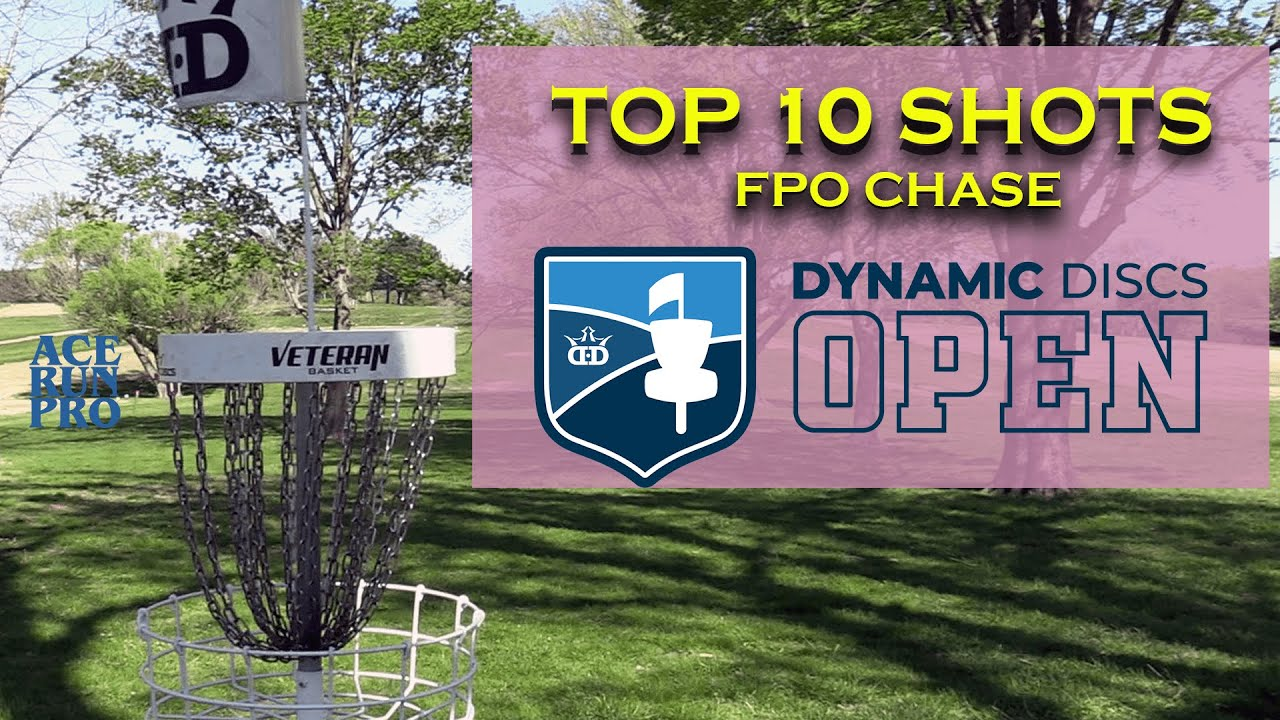 ARP | Dynamic Discs Open | Top 10 Shots | FPO Chase Card |