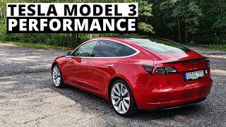 Tesla 3 Performance - to nie jest dobry diesel