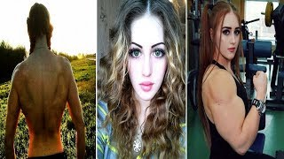 Russian Muscle Barbie: 18 y.o with Face of Porcelain Doll & Body of HULK who can deadlift 400lbs(She may have the face of a porcelain doll but below the neck this 18-year-old is more like The Incredible Hulk and can deadlift 400lbs - the average weight of a ..., 2015-02-17T16:26:06.000Z)