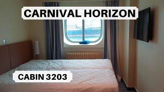 carnival horizon secret deck full walk around carnival panorama