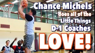 Chance Michels Does All The Little Things Raw Basketball Highlights