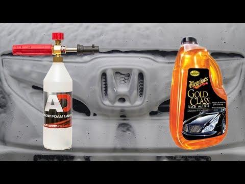 Snow Foam Lance Test : Meguiars Gold Class Car Wash Part #1