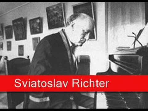 Sviatoslav Richter: Bach - French Suite No. 2 in C minor, BWV 813