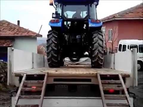 2014 Model New Holland TD 65D Traktörün Adrese teslimi