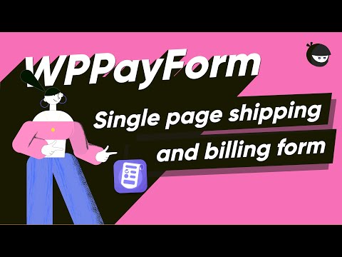 Collect billing address and take payment in the same form   Easiest WordPress payment form Plugin