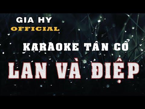 Karaoke tân cổ ║ Lan và Điệp - Song ca ║ Karaoke midi 🎤