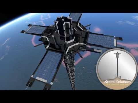 Orbital Tether | Planet-to-Space Elevator | Space Engineers