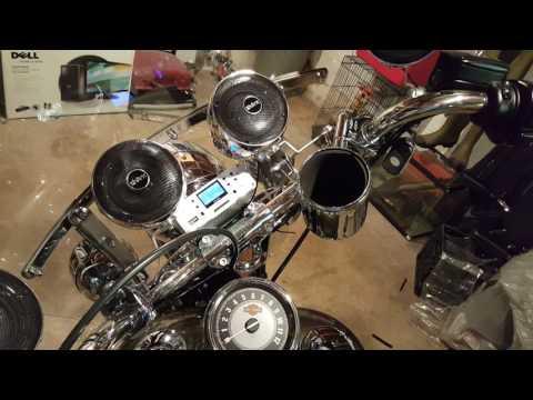 Shark Audio 1000 watt Motorcycle Radio Review