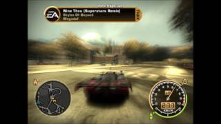 NFSMW-Fastest car INSANE SPEED 458 km/h