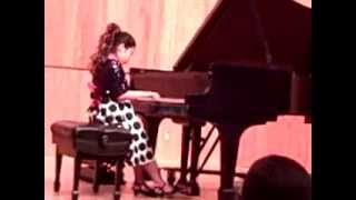 Piano Recital Jasmine Ma (2011)