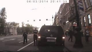 Авария на Невском проспекте