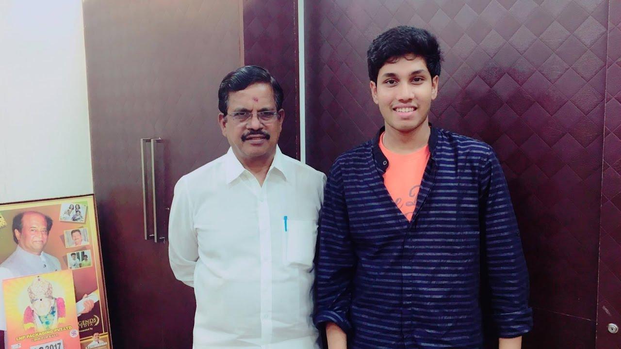 Kabali film producer Kalaipuli S. Thanu about SaiKrisshna(NaaniKrissh)