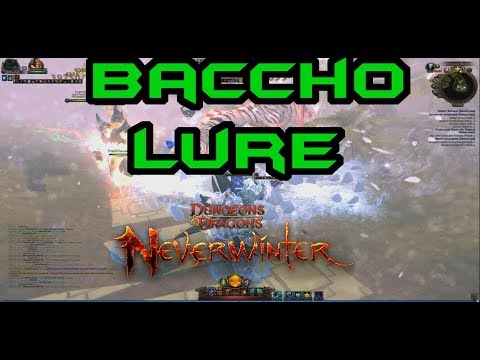 Neverwinter | HOW TO: BACCHO lure | MOD12 | PC PS4 XBOX