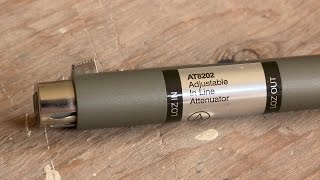 Audio-Technica AT8202 Adjustable In-Line Attenuator Review