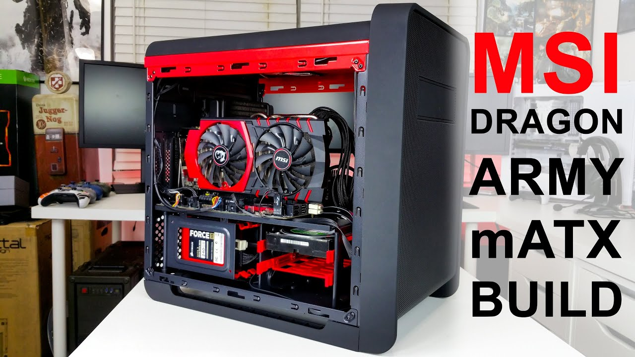 March 2016 $1100 Scrap LAN PC Build - Overview & Benchmarks