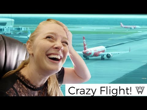 Almost Missed Our Flight 😳✈️ | Flying To Melbourne Australia (Air Asia)