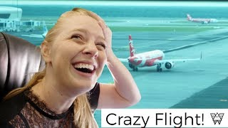 Almost Missed Our Flight ?✈️ | Flying to Melbourne Australia (Air Asia)