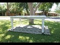 Turning a normal kitchen table into a country kitchen table How to redo a Customers Table