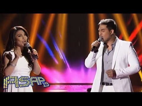 Lani Misalucha & Jed Madela in 'I'm Your Angel' duet