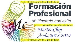 MC - Prueba 2: Instalaciones de redes de datos