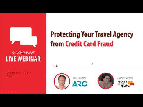 Protect Your Travel Agency from Credit Card Fraud