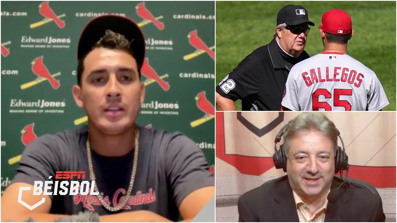 Giovanny Gallegos con ganas de REPRESENTAR A MÉXICO. Aclara polémica sobre su gorra   ESPN Béisbol