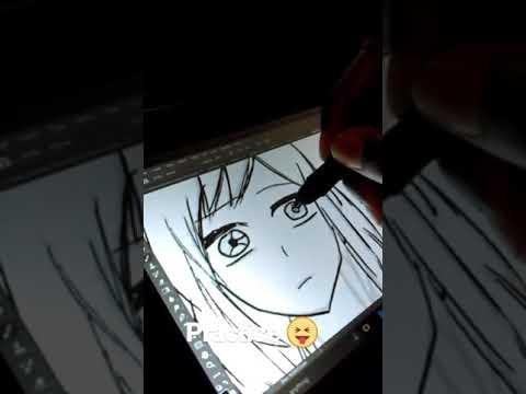 Anime Girl Lineart : Manga girl lineart reupload youtube
