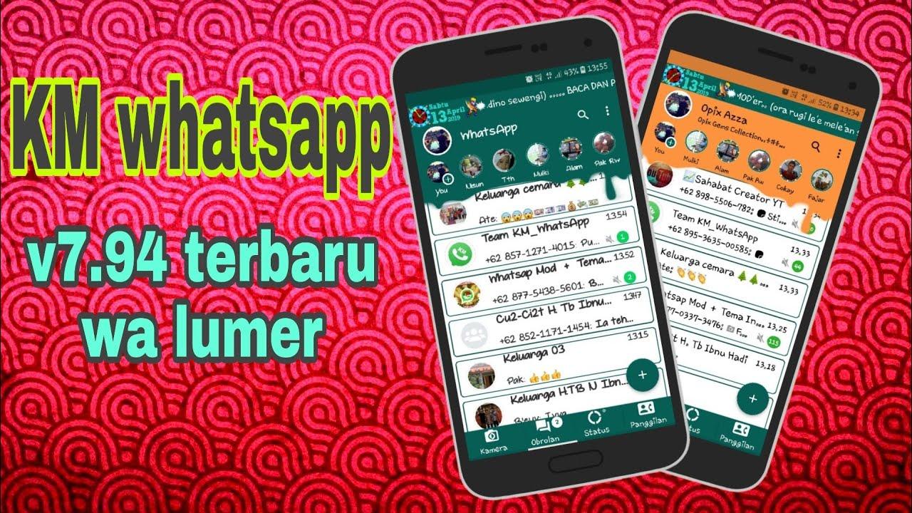KMwhatsapp mod terbaru 2019 wa meler by opix azza