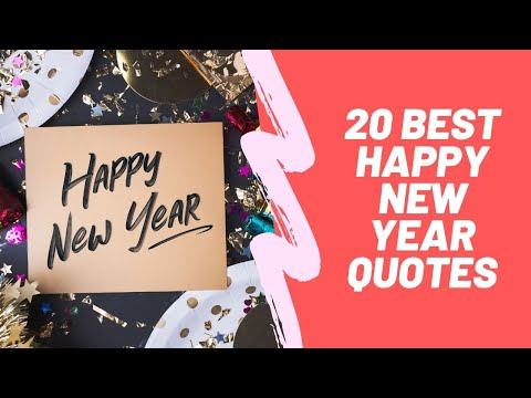 Inspirational Happy New Year Quotes 2020