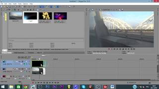 як зробити кінець відео в соні вегас