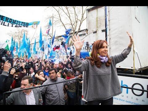 Cristina, en el acto del centenario de Yrigoyen, llamó a la construcción de un nuevo frente