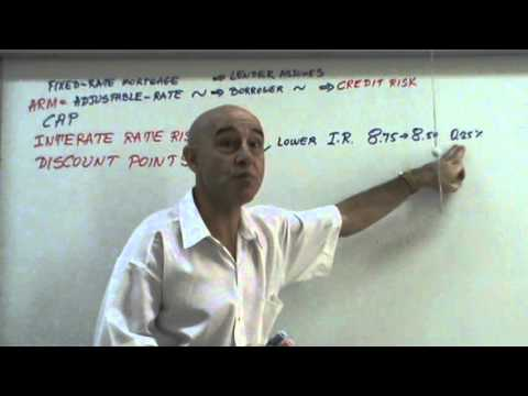 Financial Markets and Institutions - Lecture 17