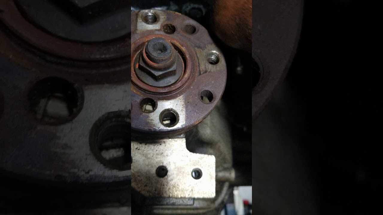 Ford F Left Motor Mount Removal Installation