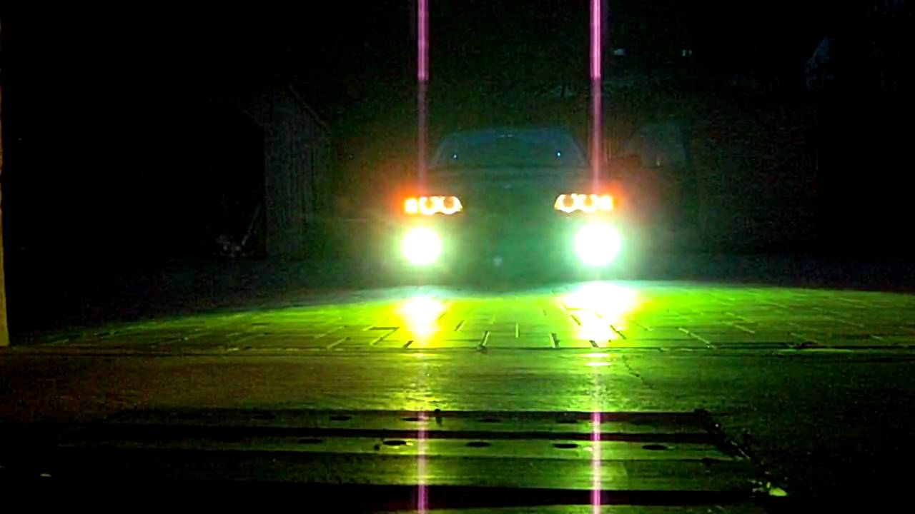 3000k hid xenon wit 50 55w at bmw 3 series e46 as fog lights youtube. Black Bedroom Furniture Sets. Home Design Ideas