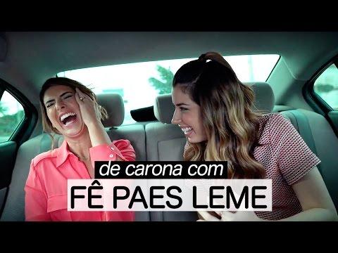 #DeCarona Fernanda Paes Leme: Saída Da Globo, Bafos De Sandy & Junior, Namoro E Mais!