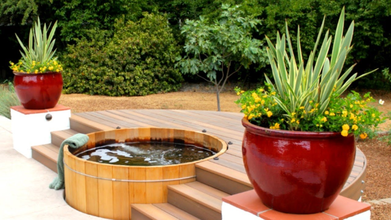 39 Impressive Outdoor Hot Tub Ideas Youtube