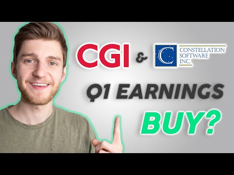 Canadian Tech Stocks Q1 Analysis! - CSU & CGI - (Stock Market Investing)