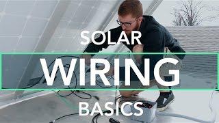 Off Grid RV Solar Wiring Basics   Full Time RV Renovation - 27