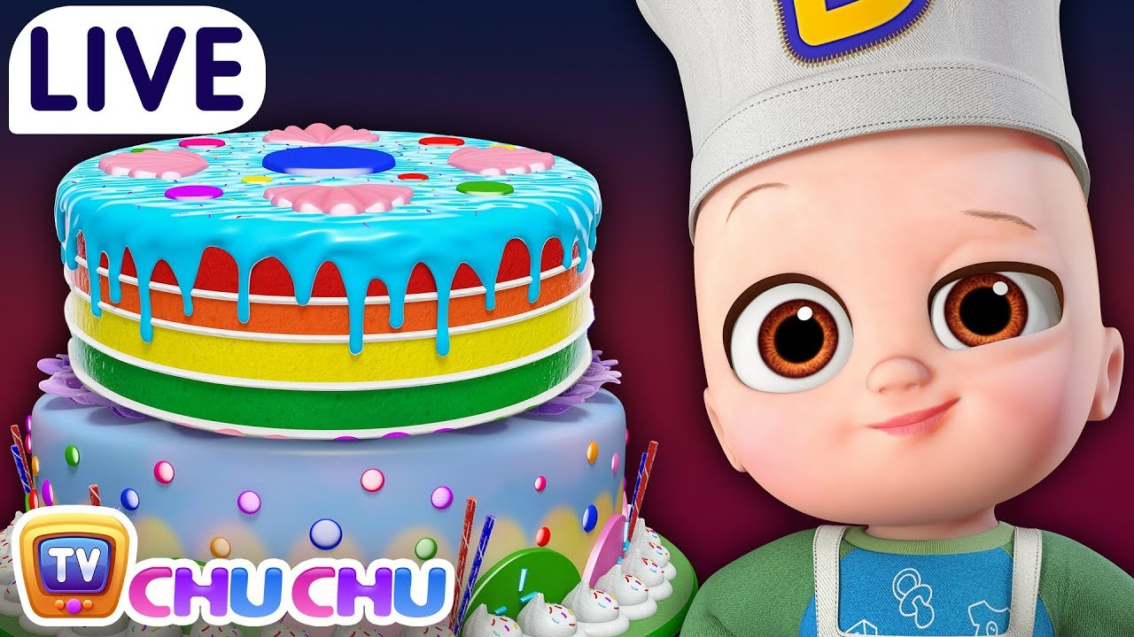 Pat a Cake + Many more Nursery Rhymes & Kids Songs – ChuChu TV LIVE