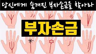 워런 버핏이 지닌 태양선 손금/부자되는 손금은 따로 있었네 ㅠㅠ(Feat:손금보는법)