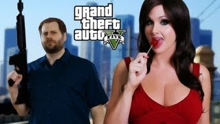 Repeat youtube video GTA 5 Rap Song - Bitch It's Grand Theft Auto! - GTAV