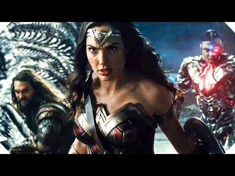 JUSTICE LEAGUE (Batman Movie, 2017) - OFFICIAL TRAILER streaming vf
